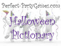 Summary: Halloween Pictionary is played just like regular Pictionary, except you use Halloween words.